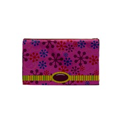 Abc Jump Small Cosmetic Bag By Lisa Minor   Cosmetic Bag (small)   Vmlo3t8xu45u   Www Artscow Com Back
