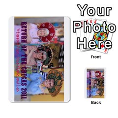 Chiacs Return By Hertelalice    Multi Purpose Cards (rectangle)   O8iuaxckrmoa   Www Artscow Com Front 52