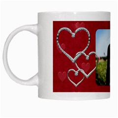 Love Bug Mug By Lil    White Mug   H7vfanlnv7ax   Www Artscow Com Left