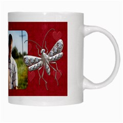 Love Bug Mug By Lil    White Mug   H7vfanlnv7ax   Www Artscow Com Right