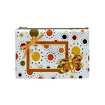 Tangerine Breeze Medium Cosmetic Bag 2 - Cosmetic Bag (Medium)
