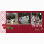 Save the Date- Love is in the Air - 4  x 8  Photo Cards