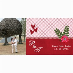 Save The Date Cards  Love By Jennyl   4  X 8  Photo Cards   F8m01r8we1v0   Www Artscow Com 8 x4 Photo Card - 5