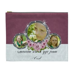 Xl Cosmetic Case Gifts From God By Laurrie   Cosmetic Bag (xl)   Kglfmo1br2g1   Www Artscow Com Front