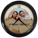 Express Yourself Wall Clock - Wall Clock (Black)