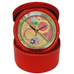Flowers - jewelry case watch - Jewelry Case Clock