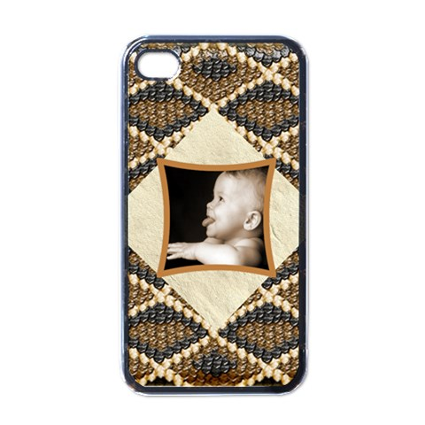 Diamondback I Phone Cover By Catvinnat   Apple Iphone 4 Case (black)   Vq6twe0gn1jd   Www Artscow Com Front