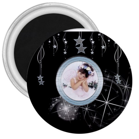 Starchild 3 Inch Magnet By Catvinnat   3  Magnet   Wnf49p963h0v   Www Artscow Com Front