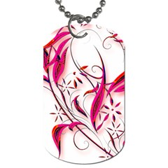 Valentine Red All Of My Heart Double Side Dog Tag By Catvinnat   Dog Tag (two Sides)   Qng08cxd3eua   Www Artscow Com Back
