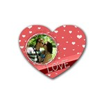 Love coaster - Heart Coaster (4 pack)