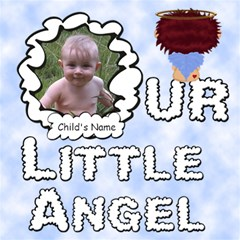Our Little Angel Boy Scrapebook Pages12x12 By Chere s Creations   Scrapbook Page 12  X 12    Hh1aq91vdhj6   Www Artscow Com 12 x12 Scrapbook Page - 1