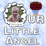 Our Little Angel Boy Scrapebook Pages12x12 - ScrapBook Page 12  x 12