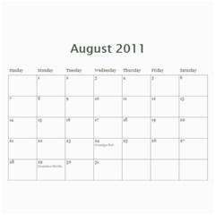 2011calender By Mamie Fritz   Wall Calendar 11  X 8 5  (12 Months)   Pvxh4va9f6df   Www Artscow Com Aug 2011