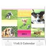 Daisy Calendar - Wall Calendar 11  x 8.5  (12-Months)