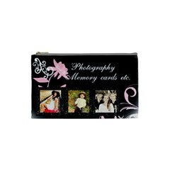 Photography Memory Card Holder By Danielle Christiansen   Cosmetic Bag (small)   0iws1uuisgom   Www Artscow Com Front
