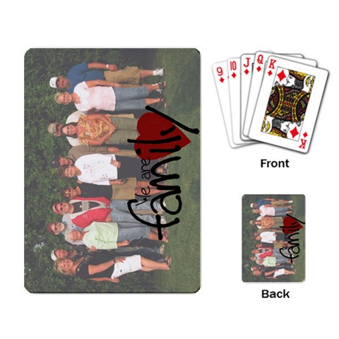 Sideways By Lori Halter   Playing Cards Single Design   75gxt1rqx1h4   Www Artscow Com Back