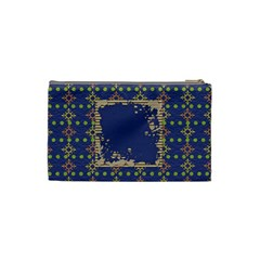 Primary Cardboard Small Cosmetic Bag 1 By Lisa Minor   Cosmetic Bag (small)   6fcxj96p9rke   Www Artscow Com Back