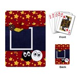 Primary Cardboard Playing Cards 1 - Playing Cards Single Design