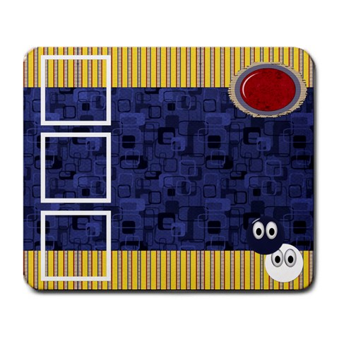 Primary Cardboard Mousepad 1 By Lisa Minor   Large Mousepad   Ug1v3r4szf4g   Www Artscow Com Front