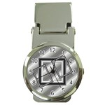 Silver clip watch - Money Clip Watch