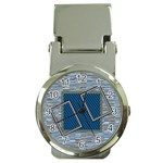 Blue clip watch - Money Clip Watch