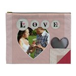 Saving All My Love For You XL Cosmetic Bag - Cosmetic Bag (XL)
