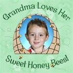 Grandma s Loves Her Sweet Honey Bees 12x12 - ScrapBook Page 12  x 12