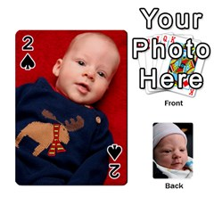 2010 Holiday Alex Cards 3 By Nick Long   Playing Cards 54 Designs   Upj4yhald1bp   Www Artscow Com Front - Spade2