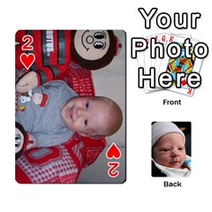 2010 Holiday Alex Cards 3 By Nick Long   Playing Cards 54 Designs   Upj4yhald1bp   Www Artscow Com Front - Heart2