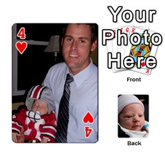 2010 Holiday Alex Cards 3 By Nick Long   Playing Cards 54 Designs   Upj4yhald1bp   Www Artscow Com Front - Heart4