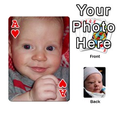 Ace 2010 Holiday Alex Cards 3 By Nick Long   Playing Cards 54 Designs   Upj4yhald1bp   Www Artscow Com Front - HeartA