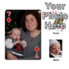 2010 Holiday Alex Cards 3 By Nick Long   Playing Cards 54 Designs   Upj4yhald1bp   Www Artscow Com Front - Diamond7