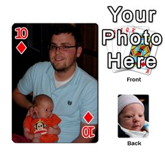 2010 Holiday Alex Cards 3 By Nick Long   Playing Cards 54 Designs   Upj4yhald1bp   Www Artscow Com Front - Diamond10