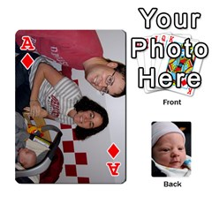 Ace 2010 Holiday Alex Cards 3 By Nick Long   Playing Cards 54 Designs   Upj4yhald1bp   Www Artscow Com Front - DiamondA