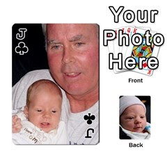 Jack 2010 Holiday Alex Cards 3 By Nick Long   Playing Cards 54 Designs   Upj4yhald1bp   Www Artscow Com Front - ClubJ