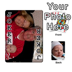 2010 Holiday Alex Cards 3 By Nick Long   Playing Cards 54 Designs   Upj4yhald1bp   Www Artscow Com Front - Joker1