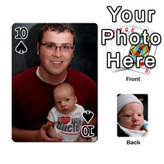 2010 Holiday Alex Cards 3 By Nick Long   Playing Cards 54 Designs   Upj4yhald1bp   Www Artscow Com Front - Spade10