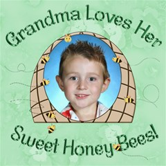 Grandma s Loves Her Sweet Honey Bees 8x8 By Chere s Creations   Scrapbook Page 8  X 8    0hbwokxj0md3   Www Artscow Com 8 x8  Scrapbook Page - 1