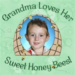 Grandma s Loves Her Sweet Honey Bees 8x8 - ScrapBook Page 8  x 8