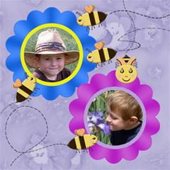 Grandma s Loves Her Sweet Honey Bees 8x8 By Chere s Creations   Scrapbook Page 8  X 8    0hbwokxj0md3   Www Artscow Com 8 x8  Scrapbook Page - 3