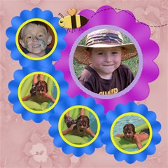 Grandma s Loves Her Sweet Honey Bees 8x8 By Chere s Creations   Scrapbook Page 8  X 8    0hbwokxj0md3   Www Artscow Com 8 x8  Scrapbook Page - 5