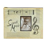 Sweet Music Extra Large Cosmetic Bag - Cosmetic Bag (XL)
