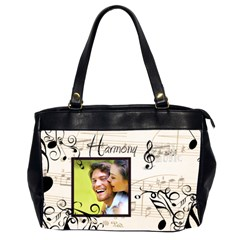 Harmony Oversized Office Bag By Catvinnat   Oversize Office Handbag (2 Sides)   61jk78s8itbs   Www Artscow Com Front