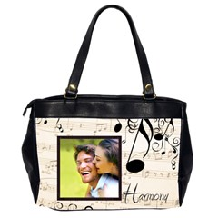 Harmony Oversized Office Bag By Catvinnat   Oversize Office Handbag (2 Sides)   61jk78s8itbs   Www Artscow Com Back