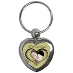 All of my Heart Keyring - Key Chain (Heart)