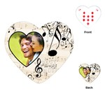 Must be the Music Heart Playing Cards - Playing Cards (Heart)