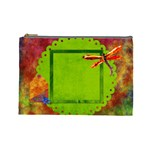 Tye Dyed Large Cosmetic Bag 1 - Cosmetic Bag (Large)