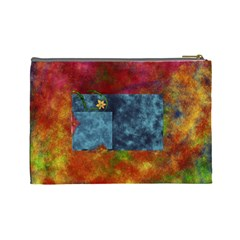 Tye Dyed Large Cosmetic Bag 1 By Lisa Minor   Cosmetic Bag (large)   3t63psqbpao6   Www Artscow Com Back
