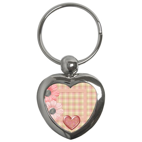 Amore Heart Shaped Keychain 1 By Lisa Minor   Key Chain (heart)   Ni1os3ja763v   Www Artscow Com Front