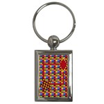 ABC Jump Keychain 1 - Key Chain (Rectangle)